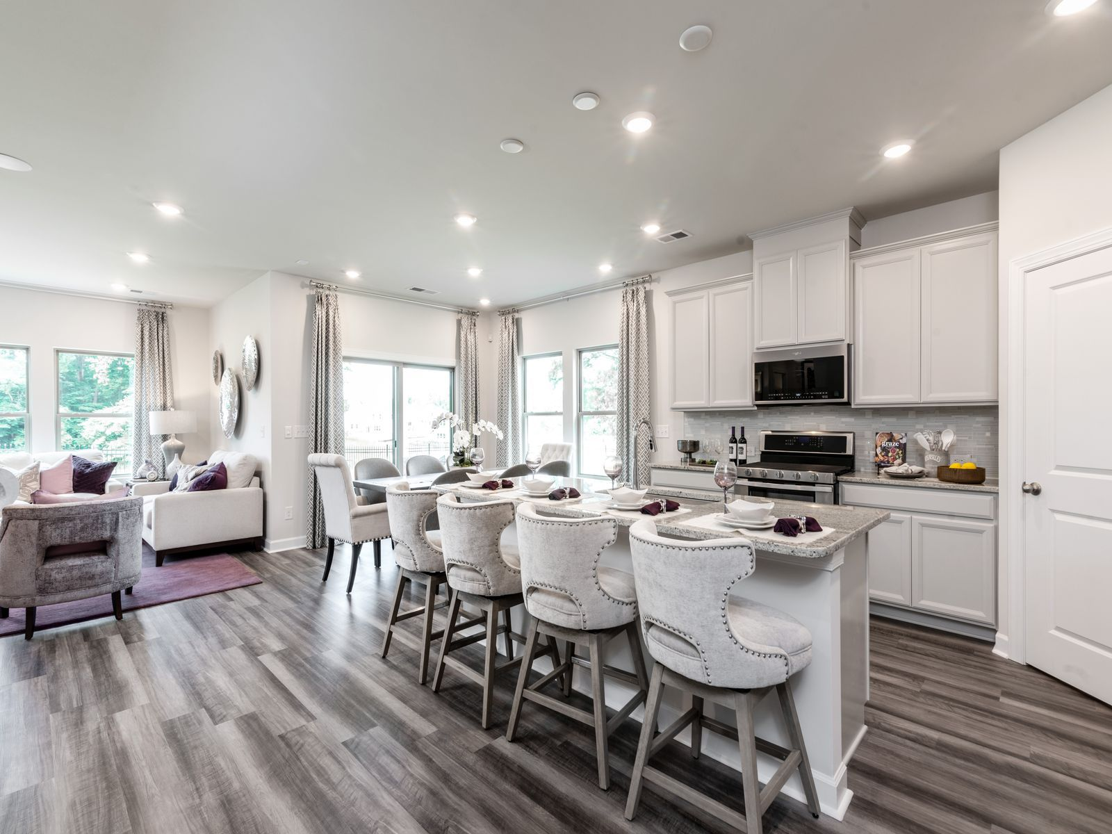 Living Area featured in the Nicholson By Meritage Homes in Charlotte, NC