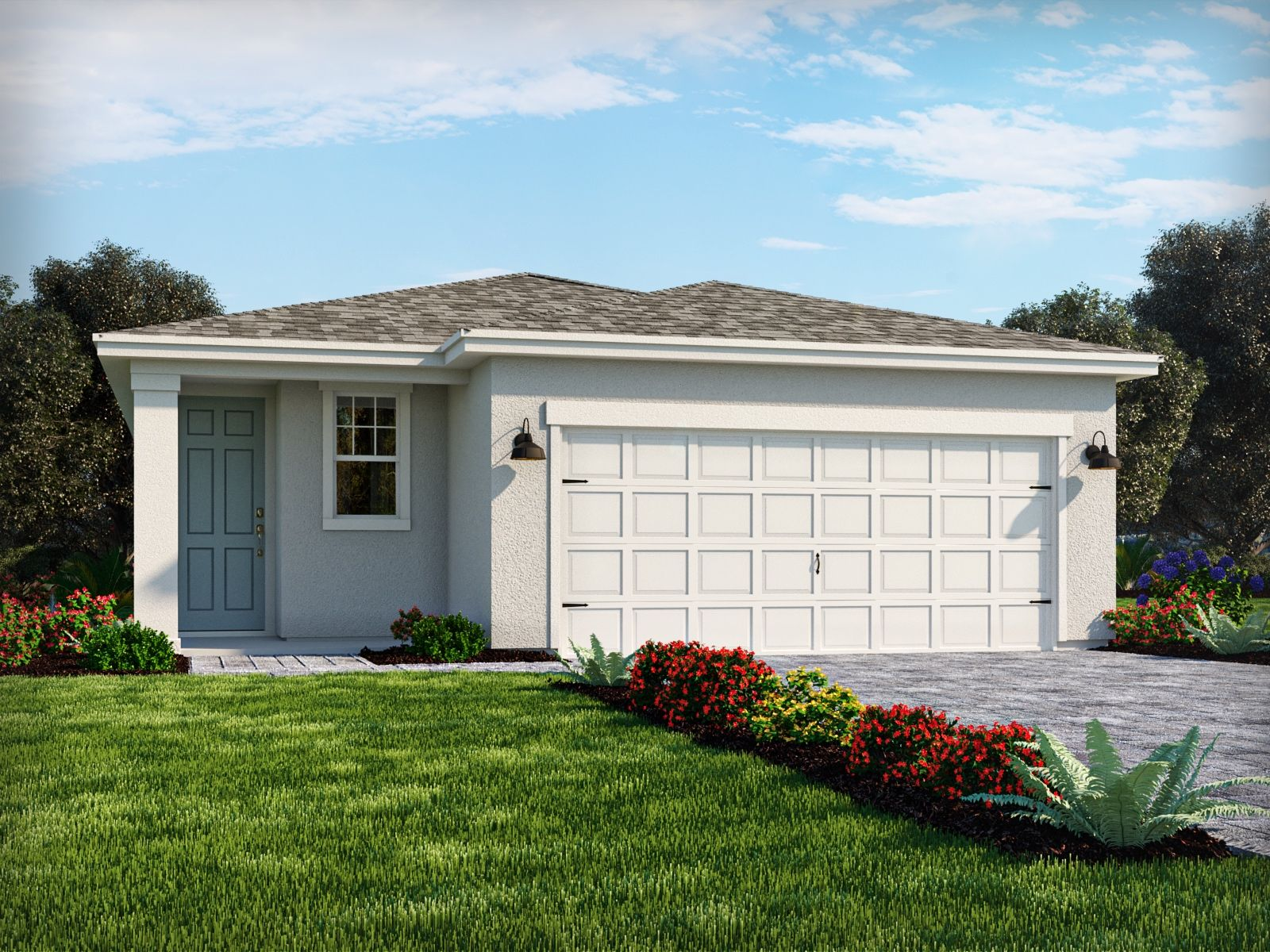 Exterior featured in the Canary By Meritage Homes in Punta Gorda, FL