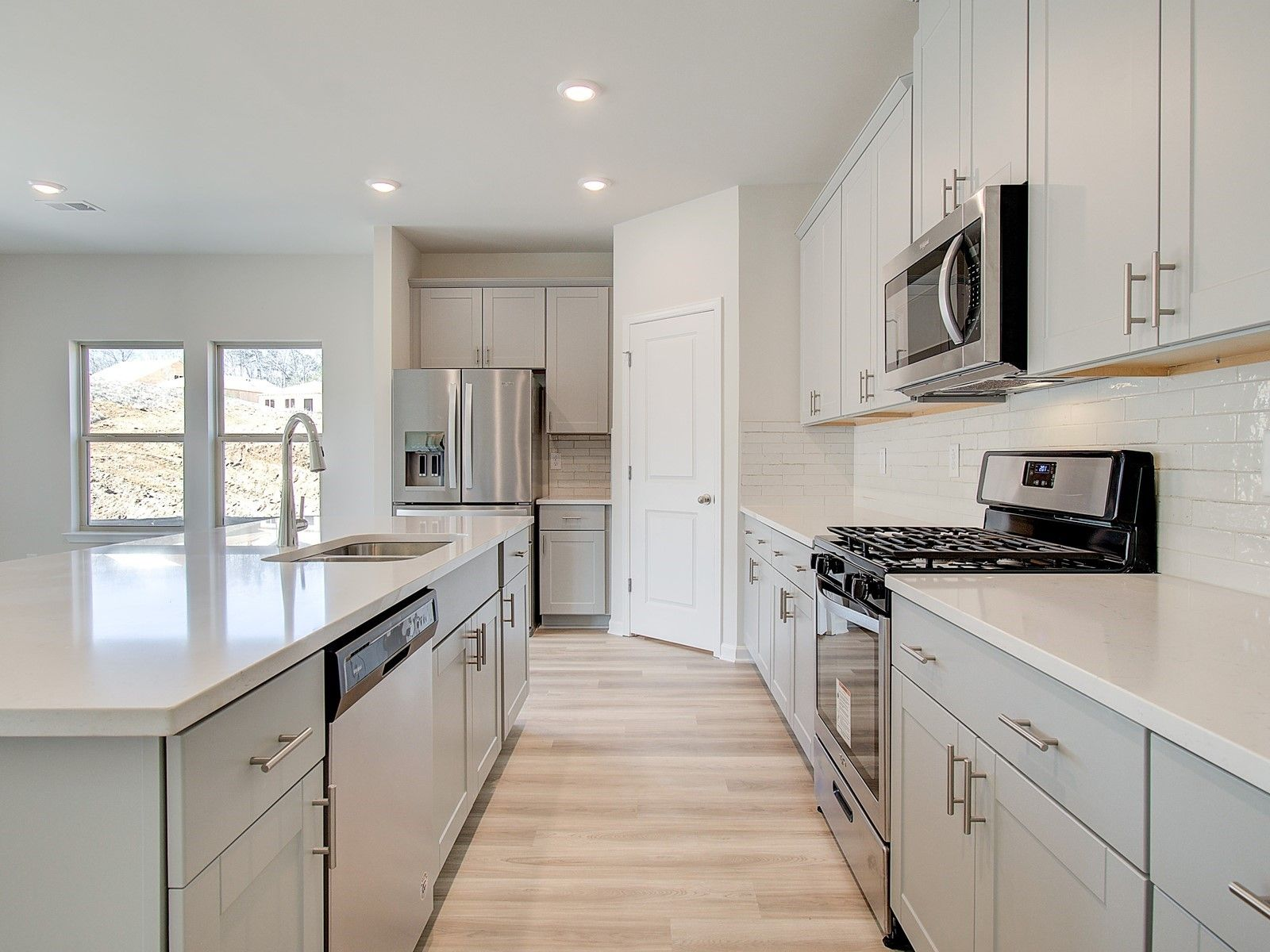 Kitchen featured in the Gibson Basement By Meritage Homes in Atlanta, GA