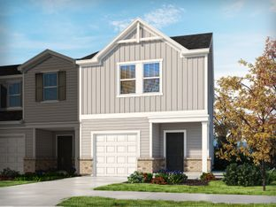 Amber - The Townes at Garrison Grove: Simpsonville, South Carolina - Meritage Homes