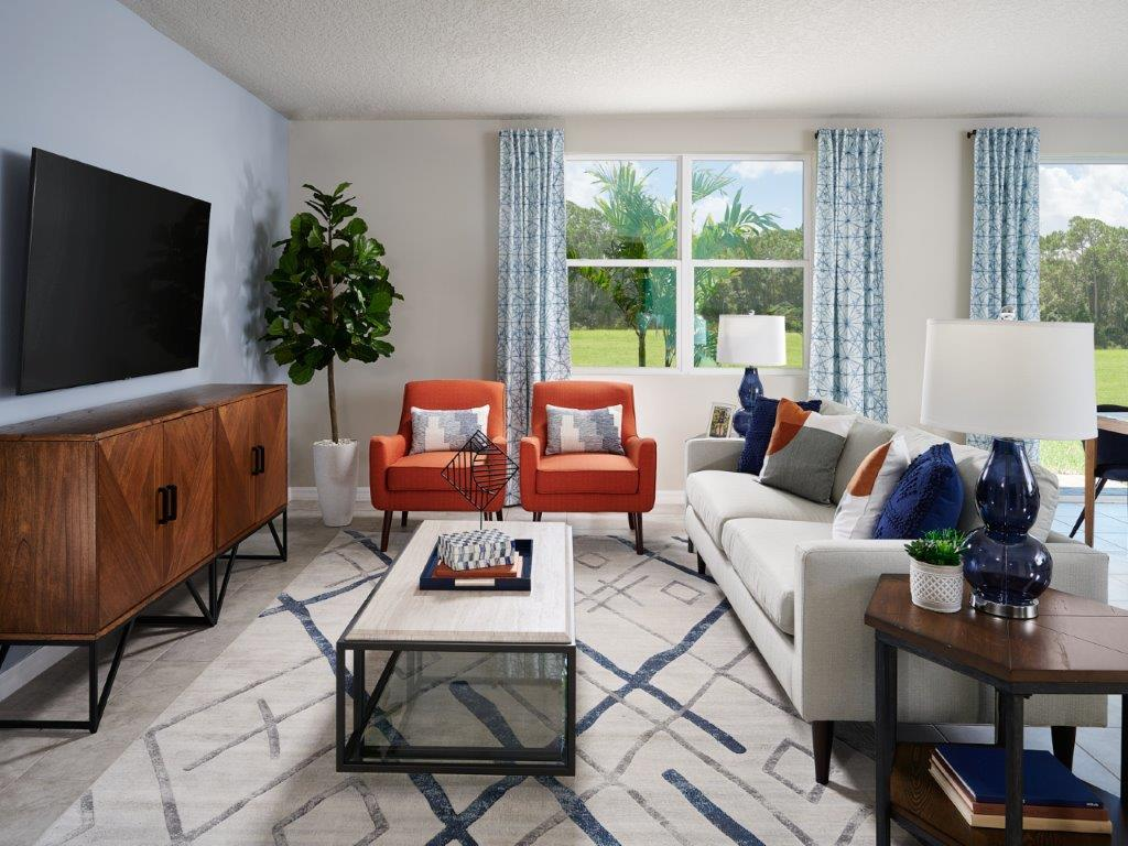 Living Area featured in the Hibiscus By Meritage Homes in Lakeland-Winter Haven, FL