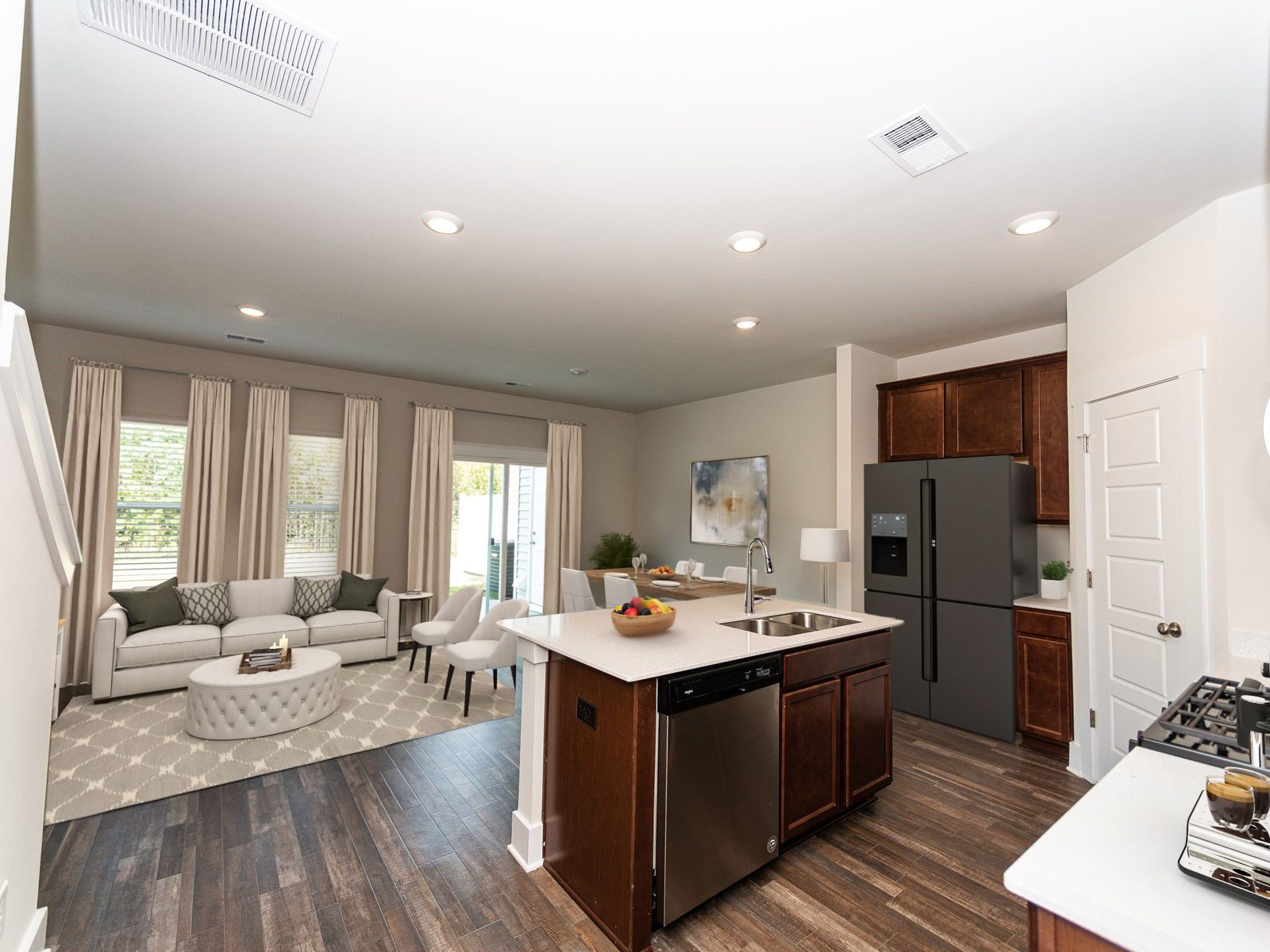 Kitchen featured in the Topaz By Meritage Homes in Greenville-Spartanburg, SC