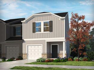 Amber - City Station Townes: Greer, South Carolina - Meritage Homes