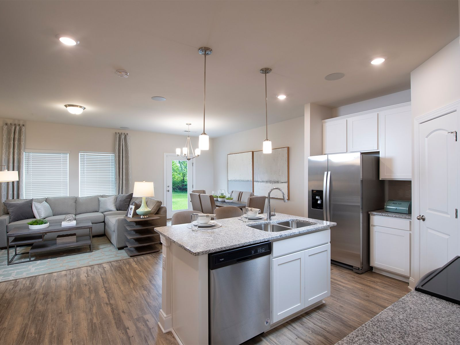 Living Area featured in the Amber By Meritage Homes in Nashville, TN