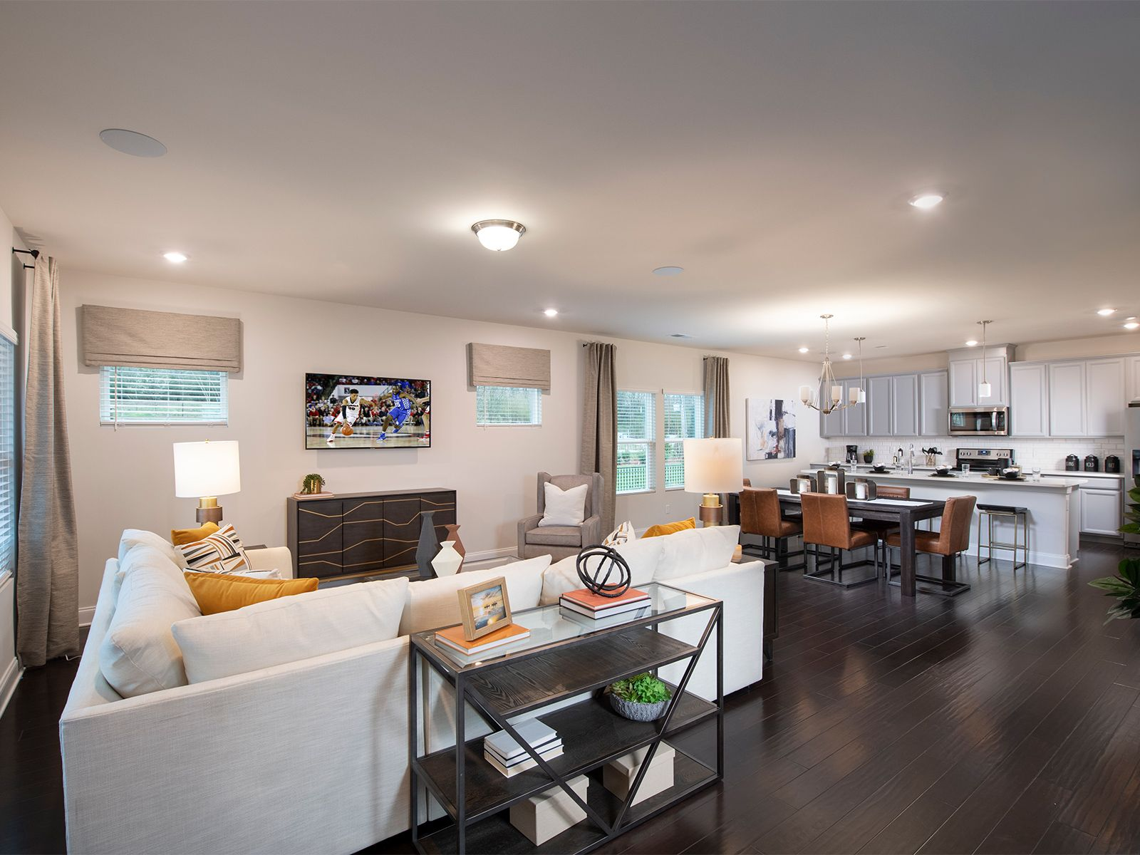 Living Area featured in the Calhoun By Meritage Homes in Nashville, TN