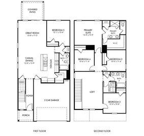 Paisley - Alston Chase: Simpsonville, South Carolina - Meritage Homes