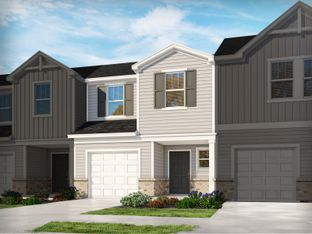 Topaz - The Townes at Garrison Grove: Simpsonville, South Carolina - Meritage Homes