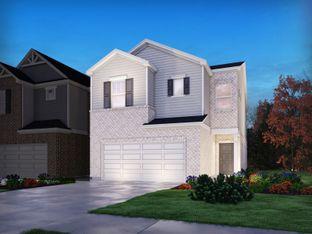 Bakersfield End Unit - Morningside Village: Lawrenceville, Georgia - Meritage Homes