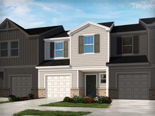 Topaz - City Station Townes: Greer, South Carolina - Meritage Homes