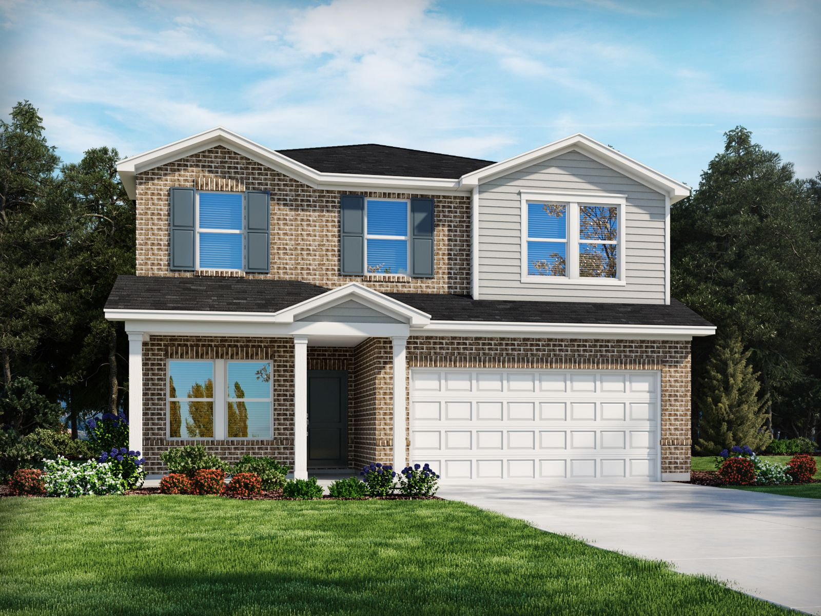 Exterior featured in the Rockwell By Meritage Homes in Nashville, TN