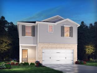 Dallas Basement - Parc Terrace: Holly Springs, Georgia - Meritage Homes