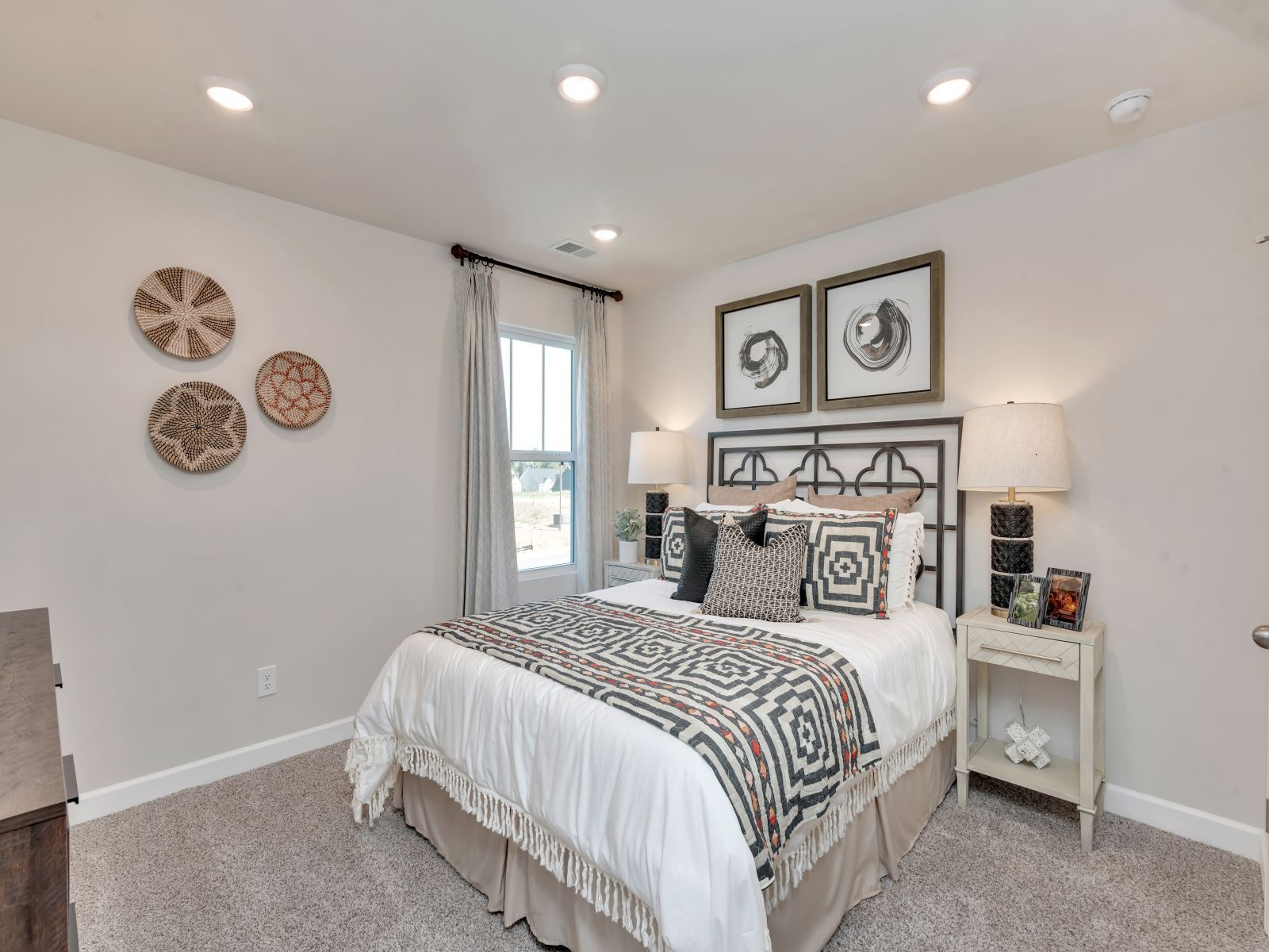 Bedroom featured in the Chatham By Meritage Homes in Charlotte, NC