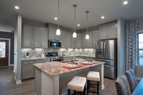 Kitchen-in-Habersham-at-12 Oaks - The Enclave Collection-in-Holly Springs