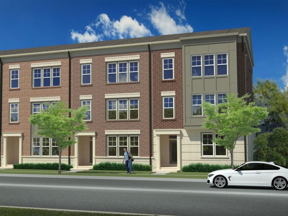 Westphalia town center in upper marlboro md new homes for Maryland home builders