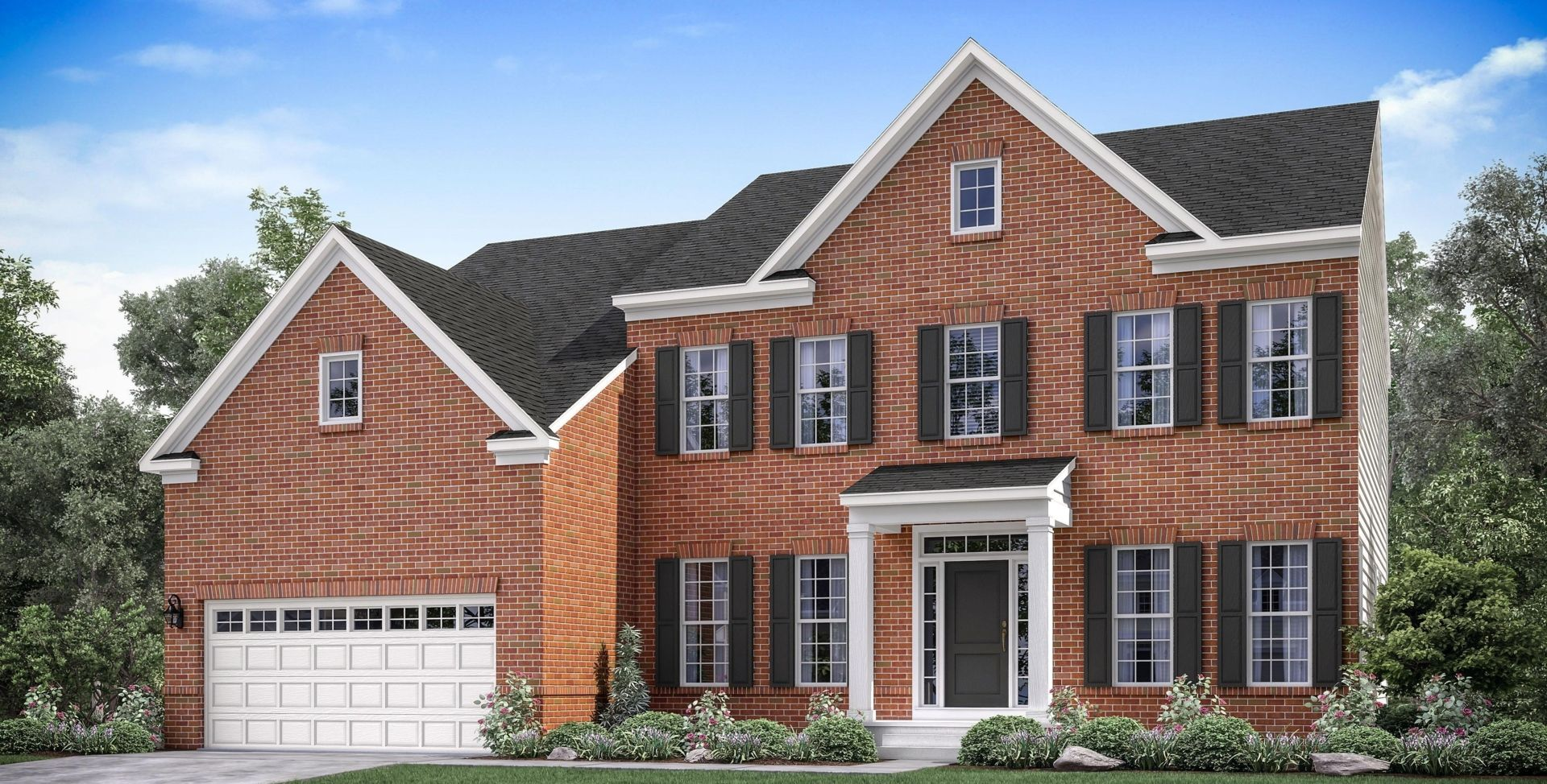 Exterior featured in the Lugano By Mid-Atlantic Builders in Washington, MD