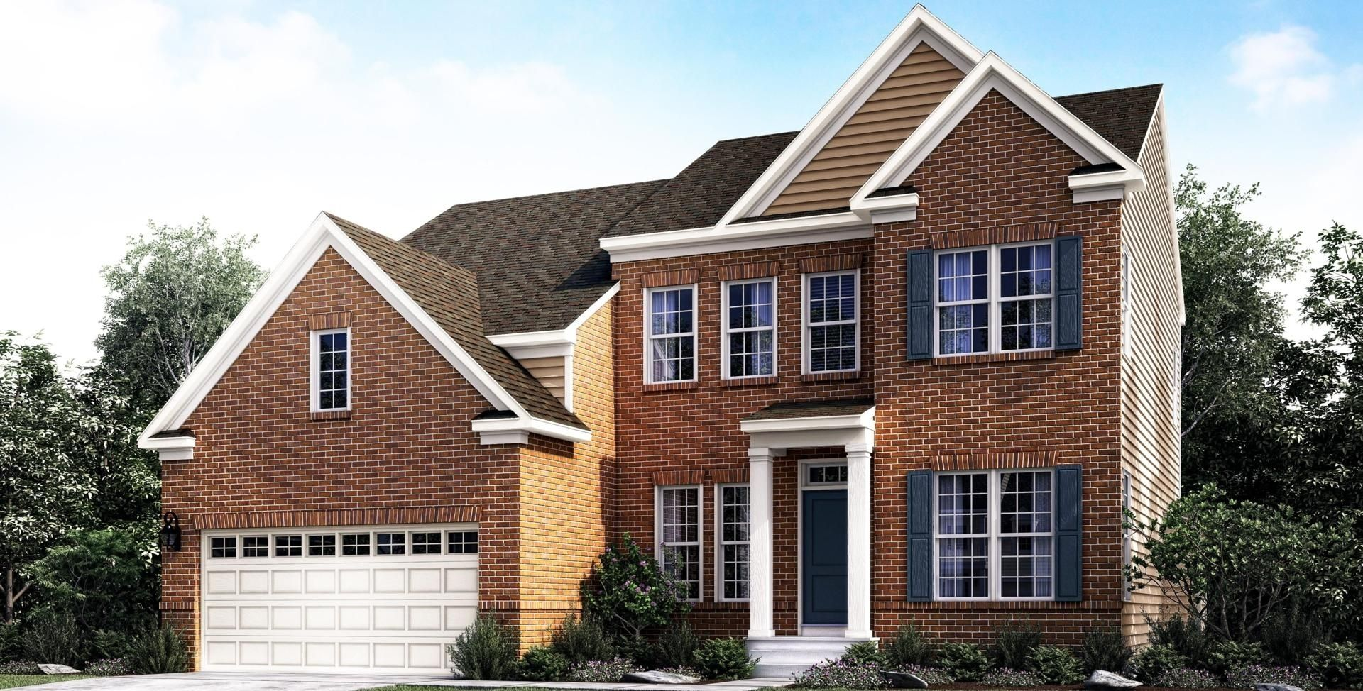 Exterior featured in the Matera MG By Mid-Atlantic Builders in Washington, MD
