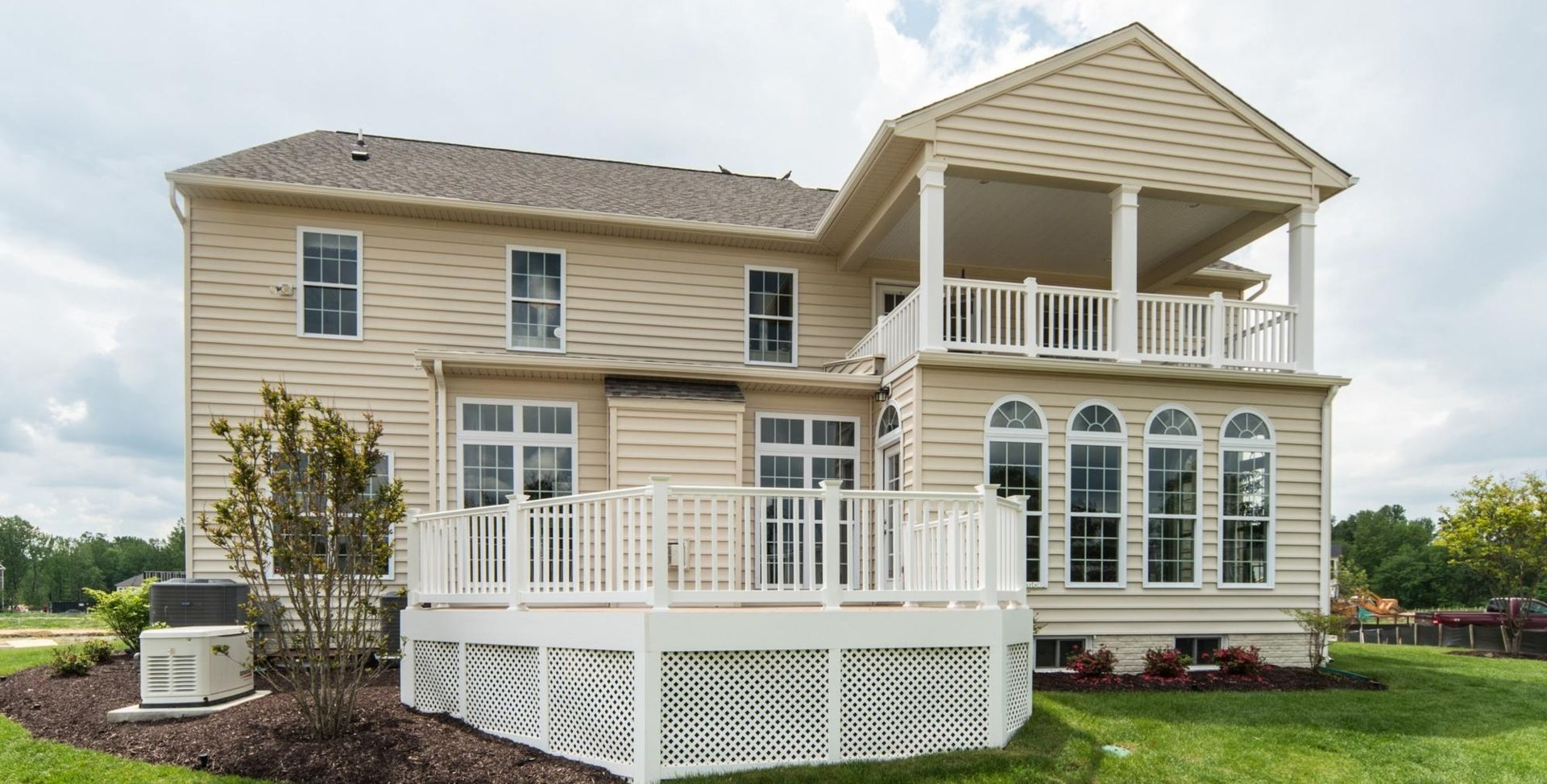 Exterior featured in the Sorrento MG By Mid-Atlantic Builders in Washington, MD