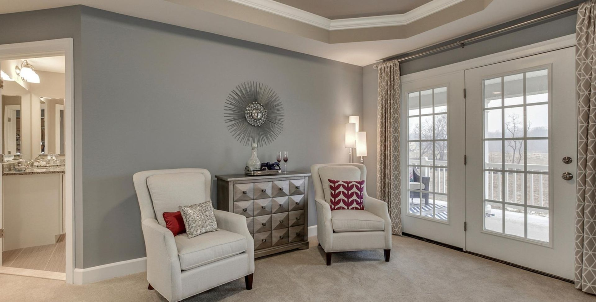 Living Area featured in the Sorrento MG By Mid-Atlantic Builders in Washington, MD