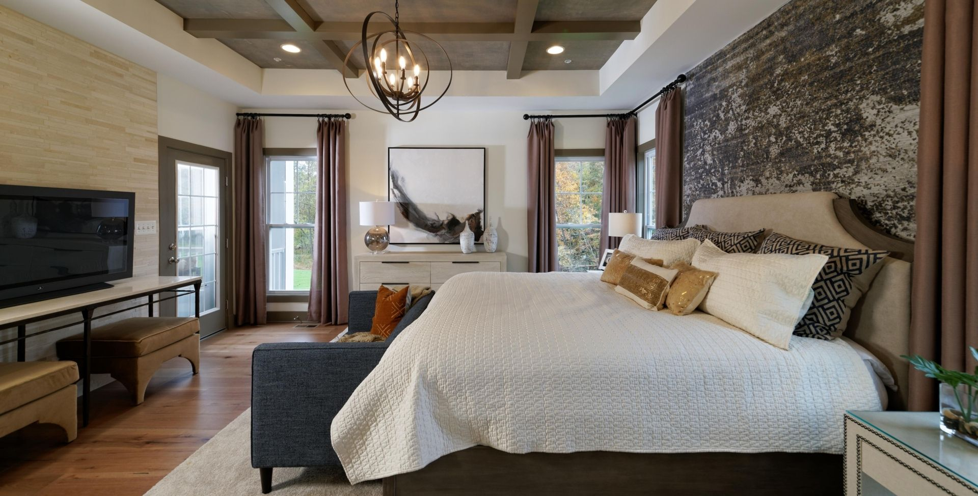 Bedroom featured in the Capri By Mid-Atlantic Builders in Washington, MD