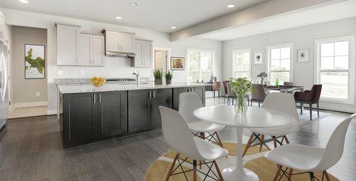 Kitchen-in-Razzano-at-The Villages of Savannah - Madison Village-in-Brandywine