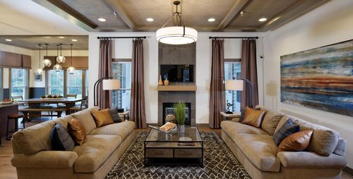 Greatroom-and-Dining-in-Capri-at-The Villages of Savannah - Madison Village-in-Brandywine