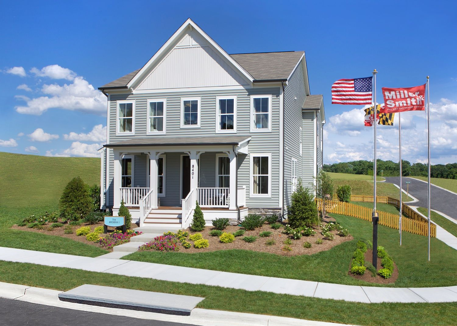 8403 pine bluff road arcadia i frederick maryland for Maryland home builders