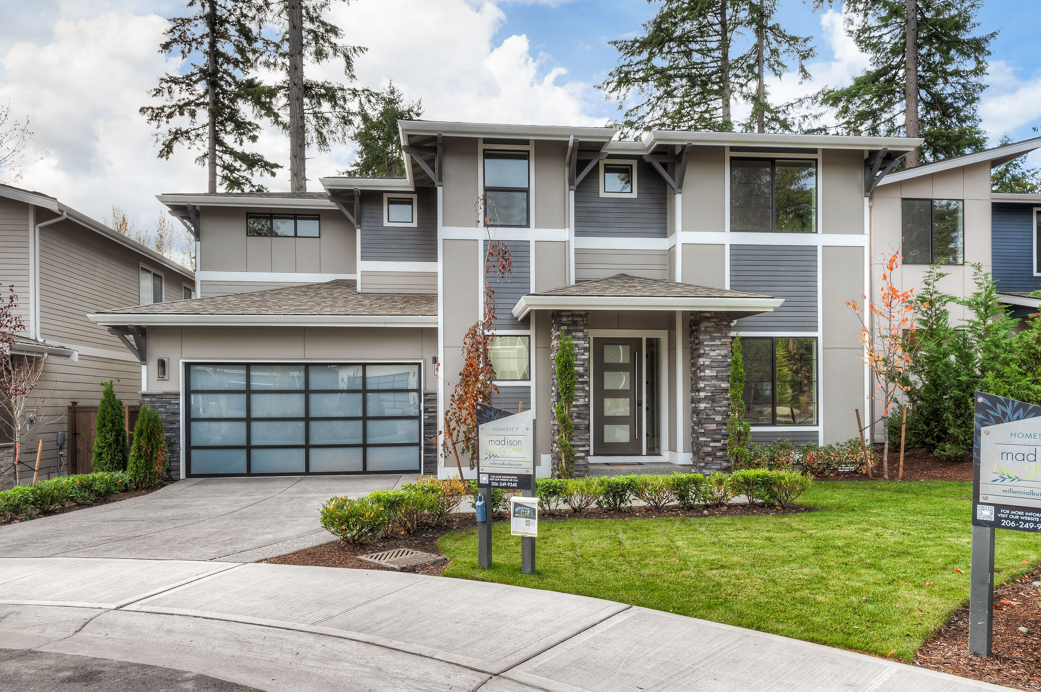 Exterior featured in the Homesite 7 Willow By Millennial Builders in Bremerton, WA