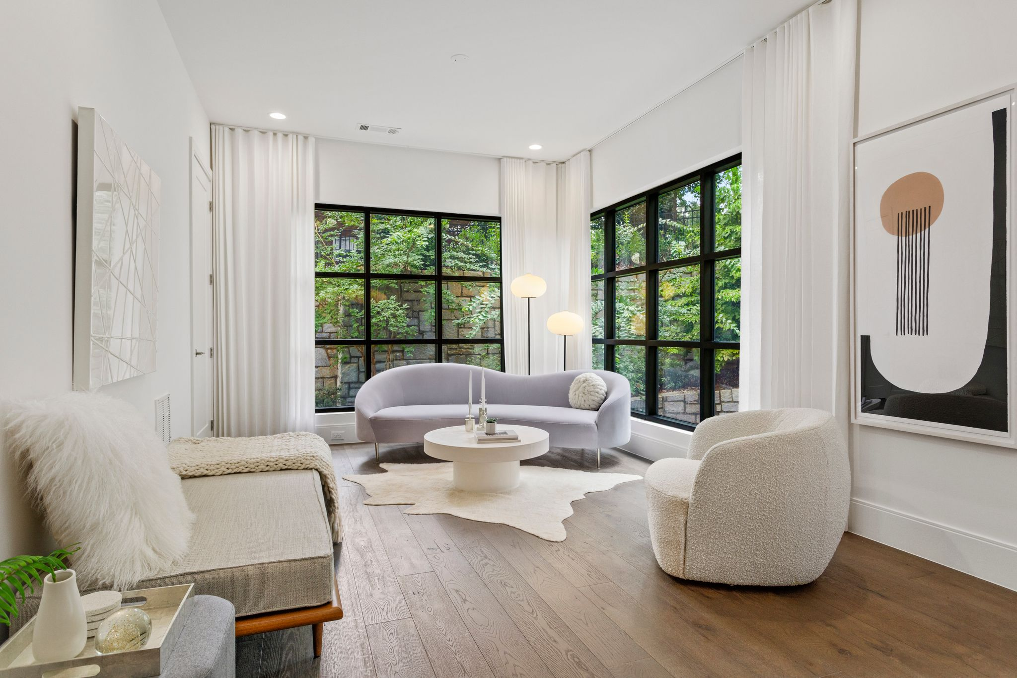 Living Area featured in the Condo By Minerva Homes in Atlanta, GA