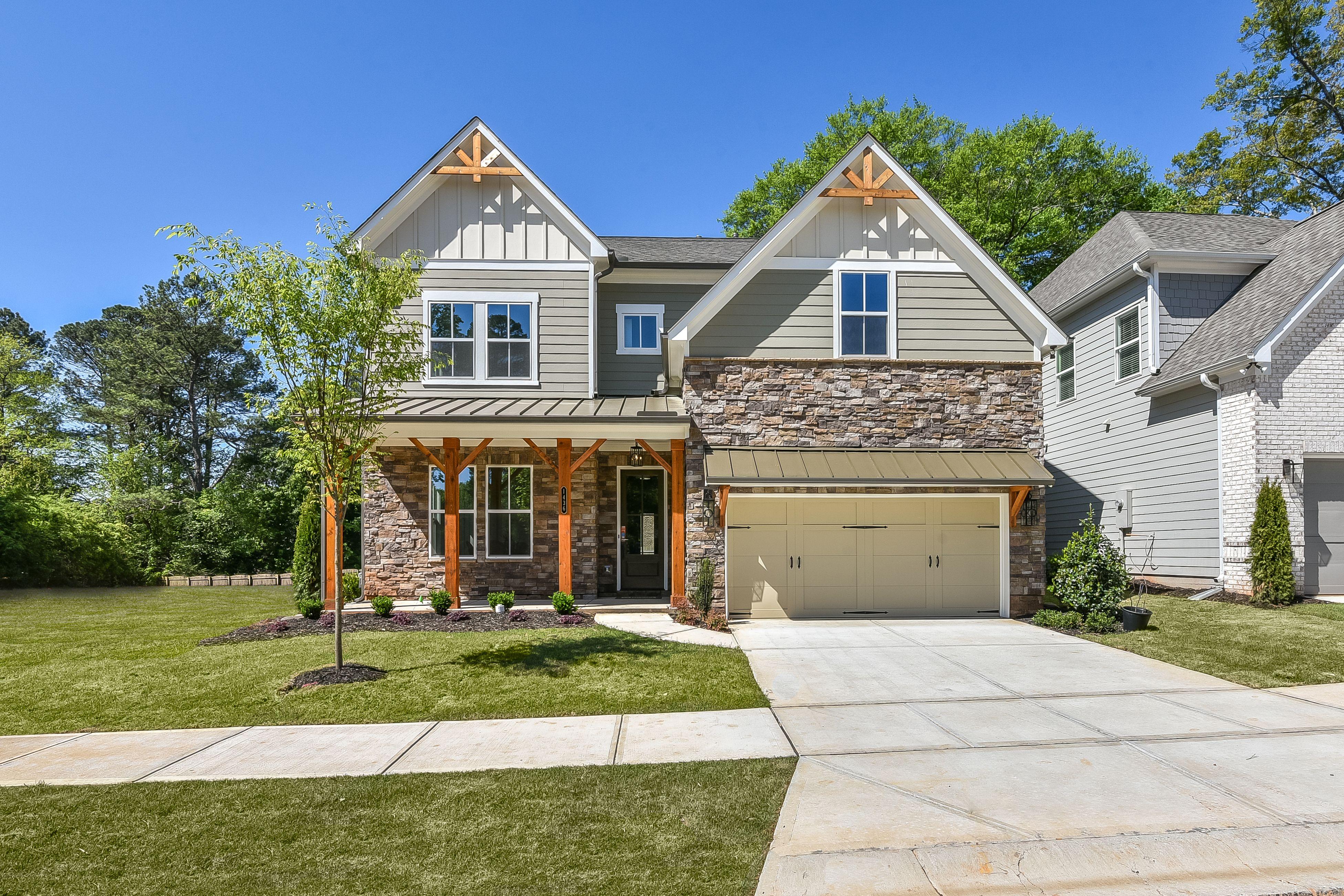 'Twelve Oaks' by Minerva Homes in Atlanta