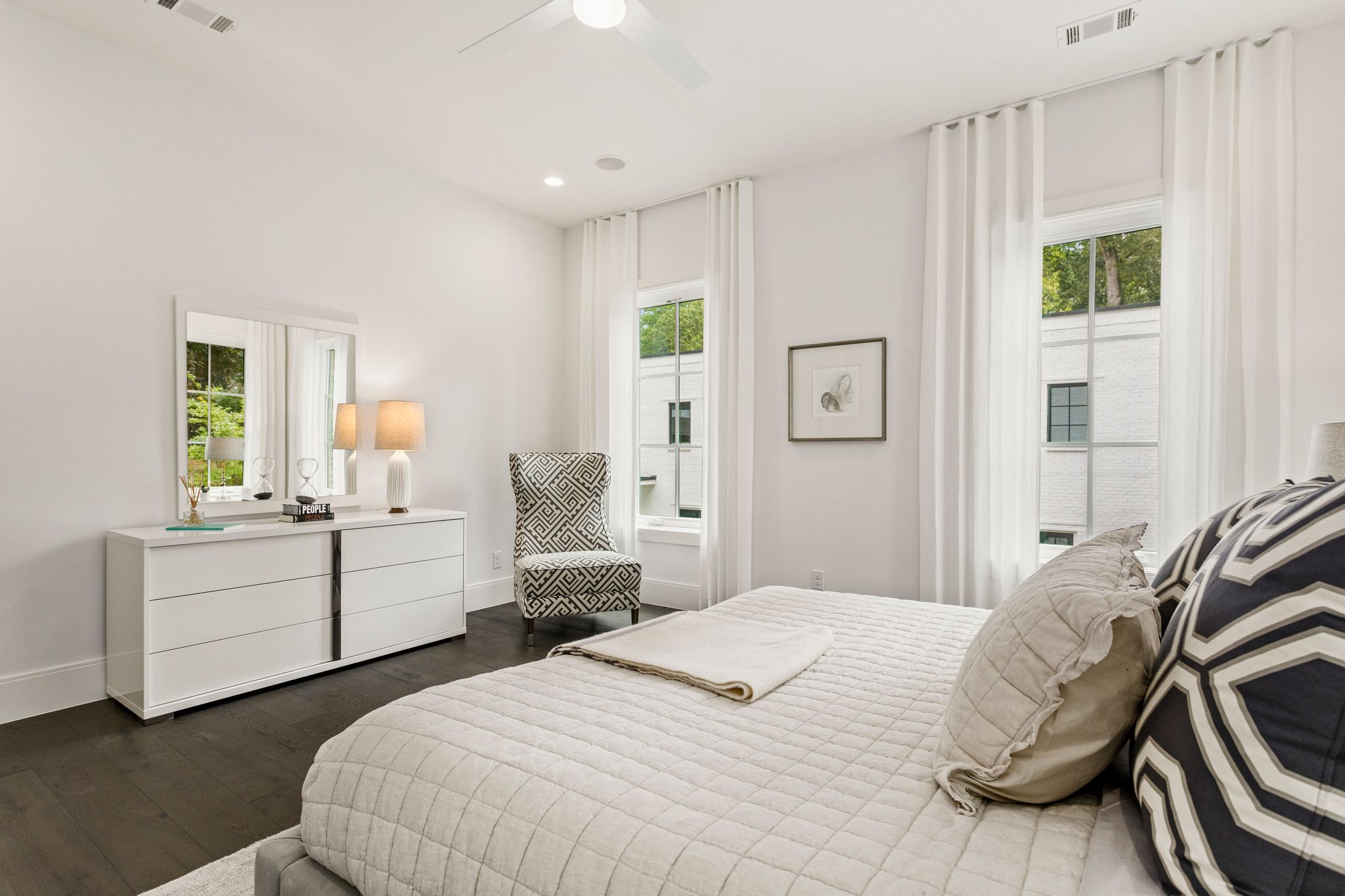Bedroom featured in the Olmsted Condo By Minerva Homes in Atlanta, GA