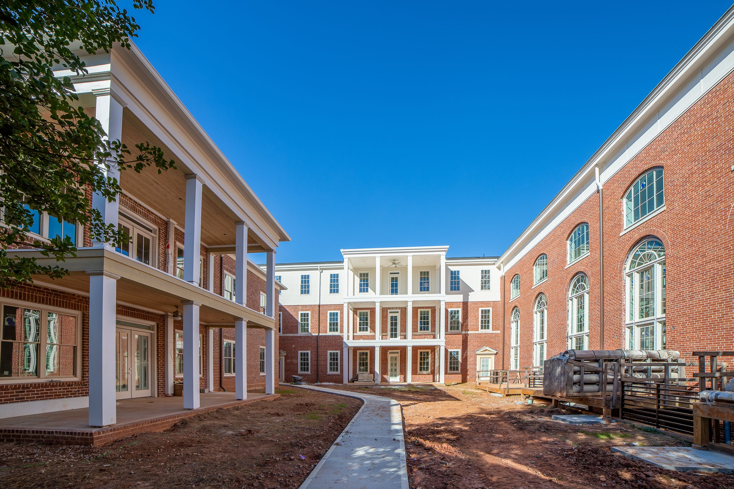 Exterior featured in the Olmsted Condo By Minerva Homes in Atlanta, GA