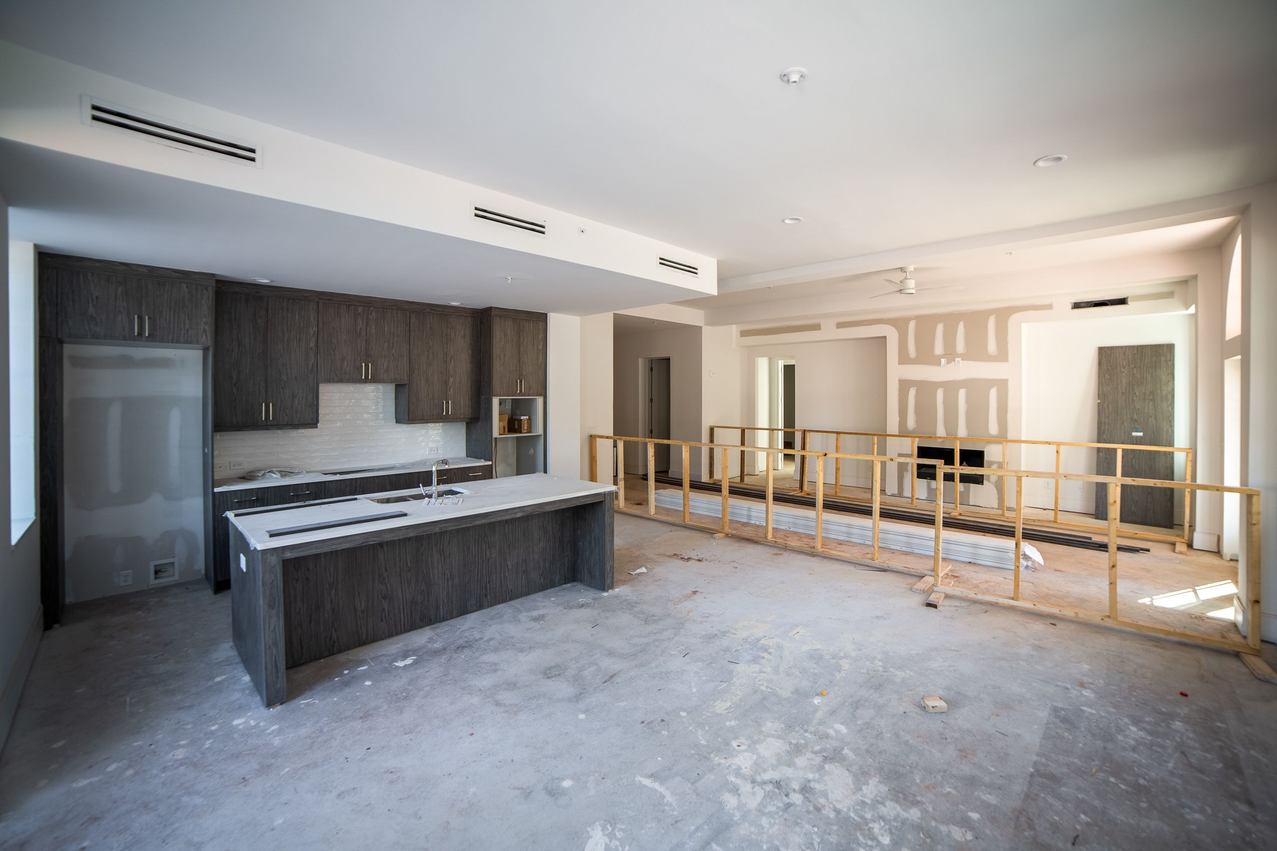 Kitchen featured in the Briarcliff Condo By Minerva Homes in Atlanta, GA