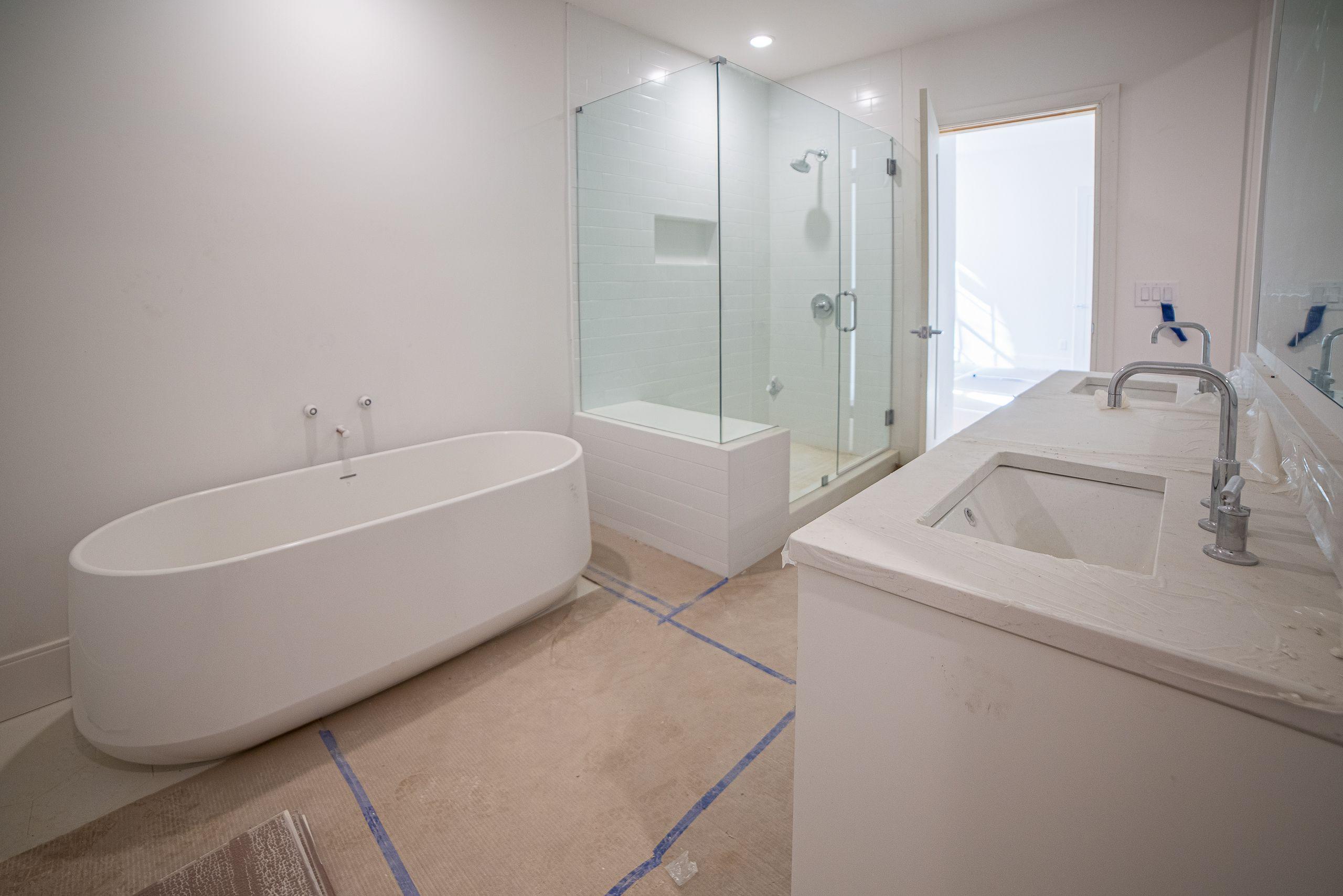Bathroom featured in the Briarcliff Condo By Minerva Homes in Atlanta, GA