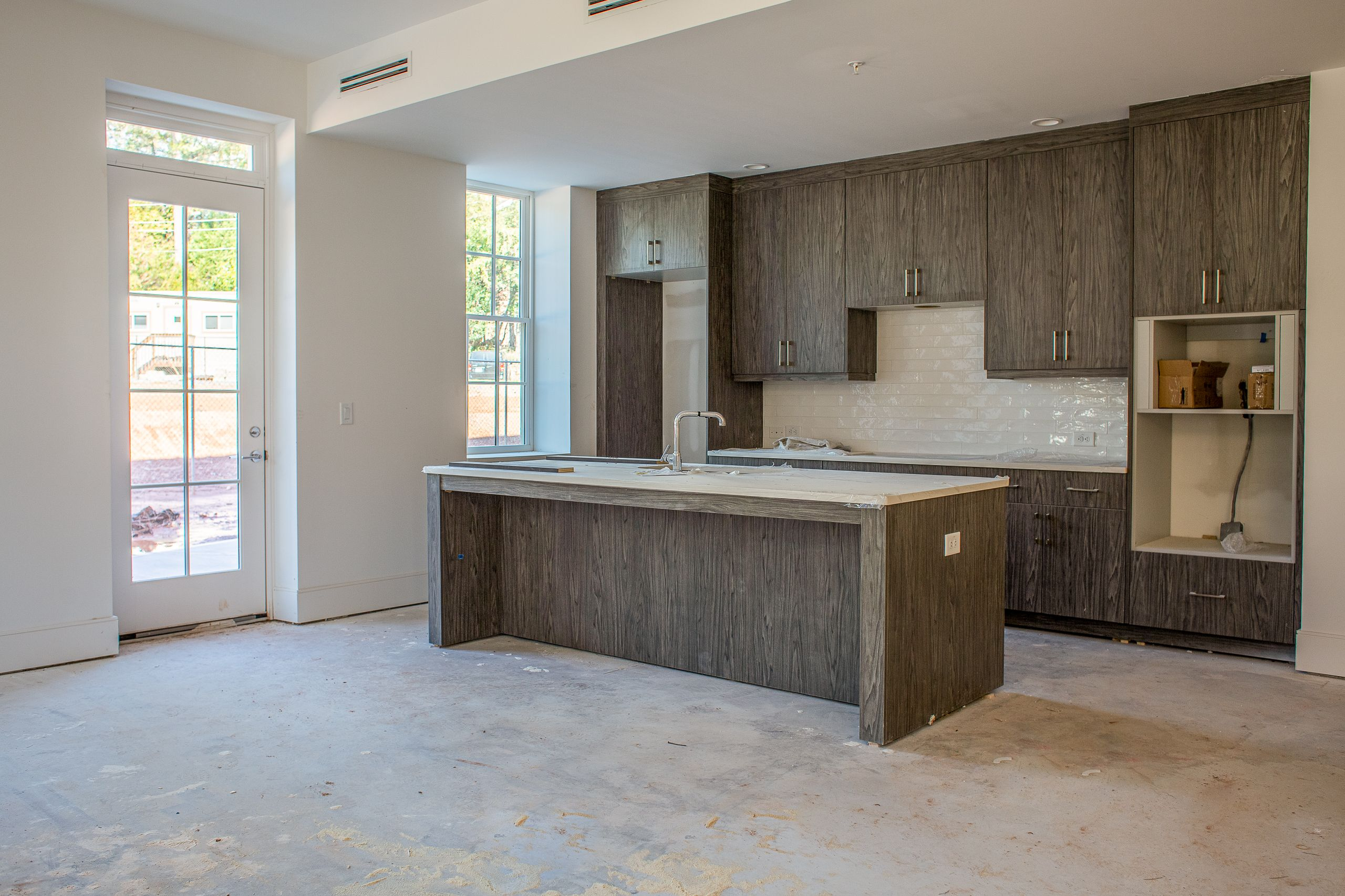Kitchen featured in the Olmsted Condo By Minerva Homes in Atlanta, GA