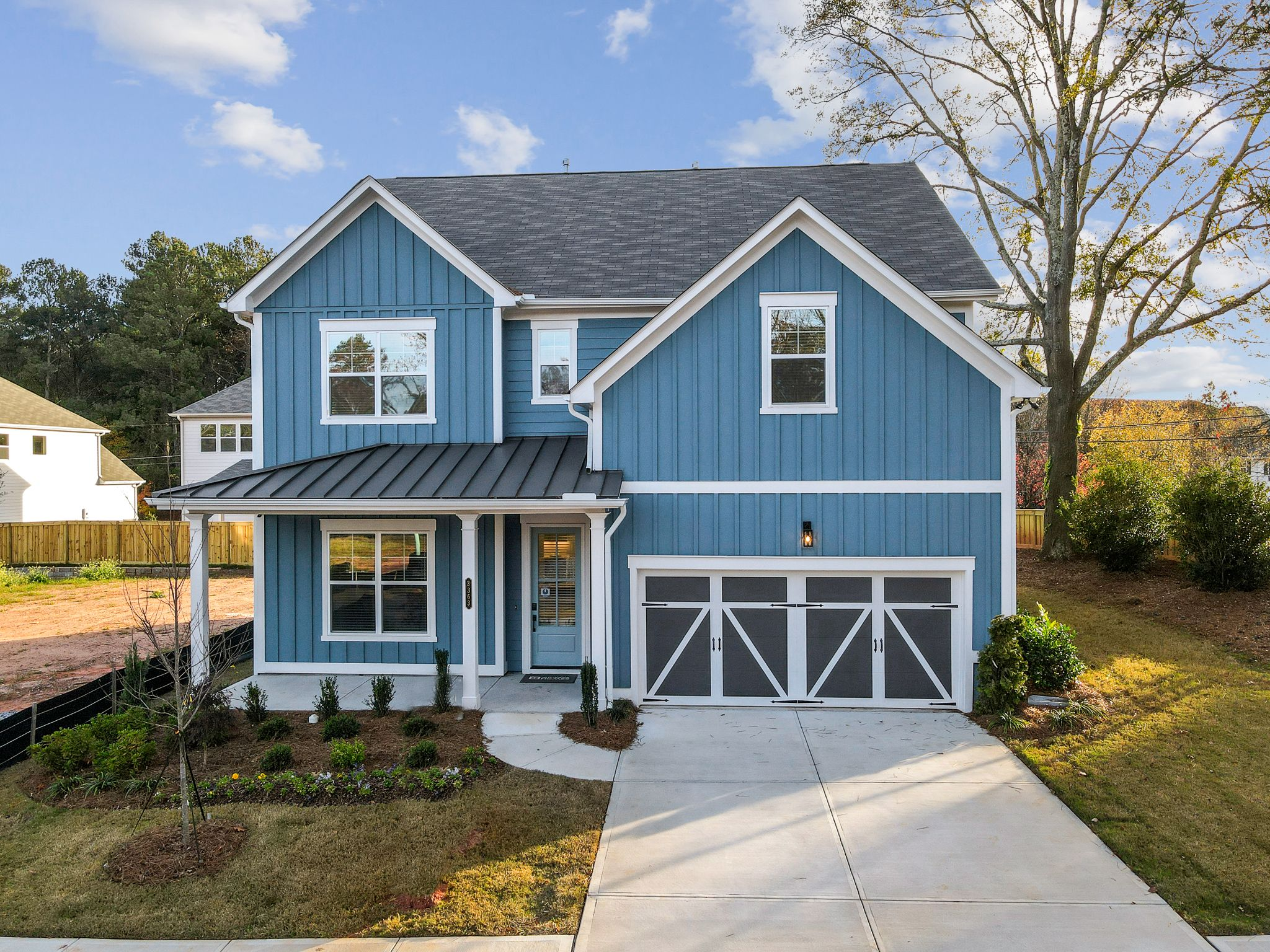 Exterior featured in the Abbott By Minerva Homes in Atlanta, GA
