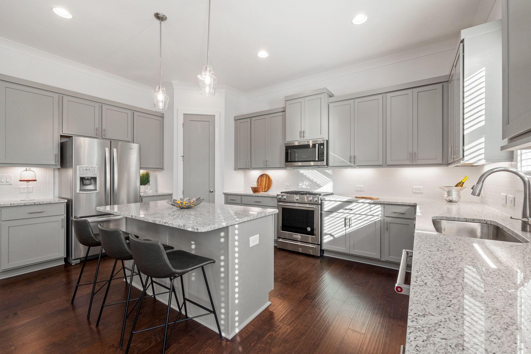 Kitchen featured in the Abbott By Minerva Homes in Atlanta, GA