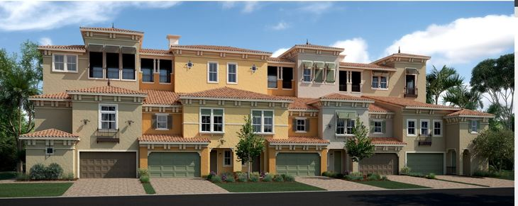 Mediterranean Elevation:Sky Villa Collection