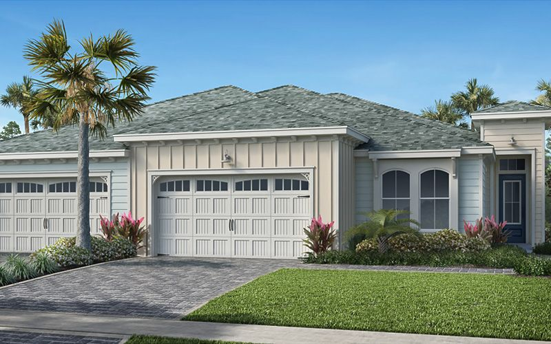 Exterior featured in the Barbuda By Minto Communities in Panama City, FL