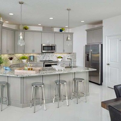 Kitchen featured in the Barbuda By Minto Communities in Daytona Beach, FL