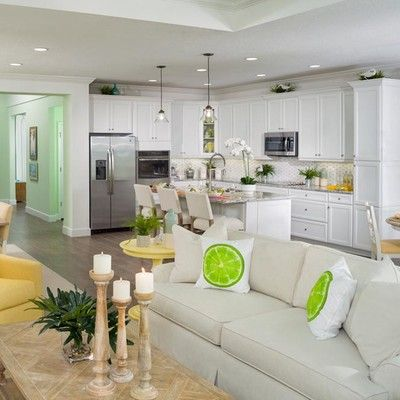 Living Area featured in the Breeze By Minto Communities in Panama City, FL