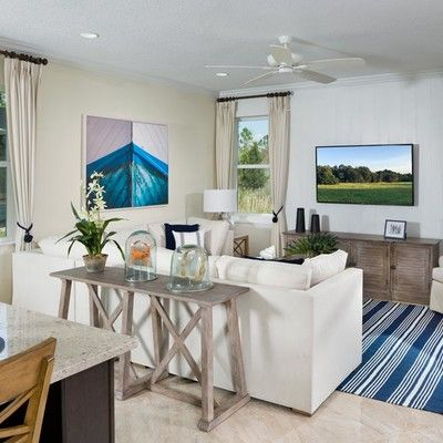 Living Area featured in the Trinidad By Minto Communities in Panama City, FL