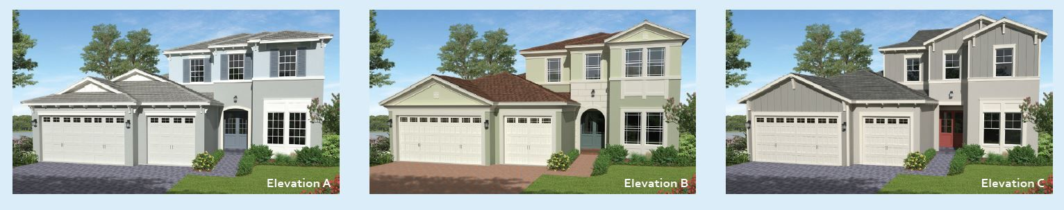Exterior featured in the Tanager By Minto Communities in Palm Beach County, FL