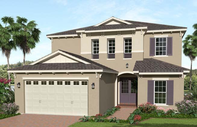 Exterior featured in the Azalea Grand By Minto Communities in Palm Beach County, FL