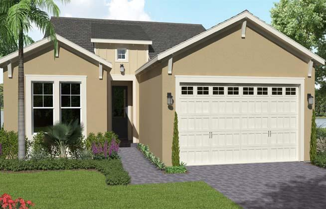 Exterior featured in the Marlberry By Minto Communities in Palm Beach County, FL