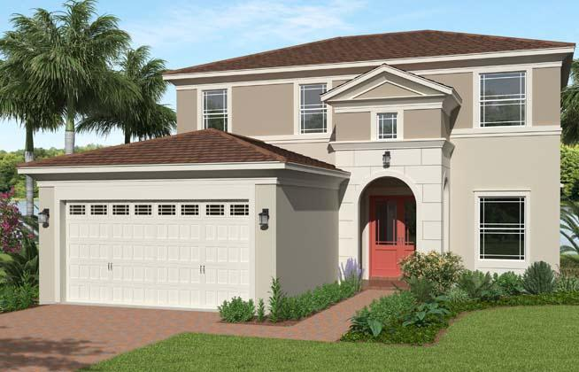 Exterior featured in the Sycamore By Minto Communities in Palm Beach County, FL