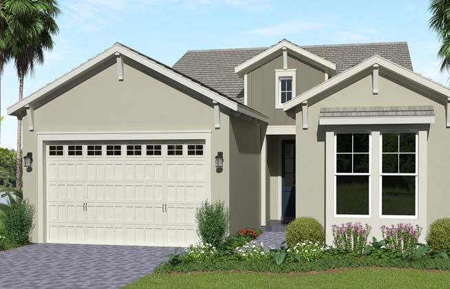 Exterior featured in the Schefflera By Minto Communities in Palm Beach County, FL