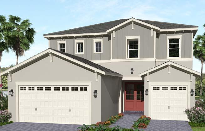 Exterior featured in the Azalea By Minto Communities in Palm Beach County, FL