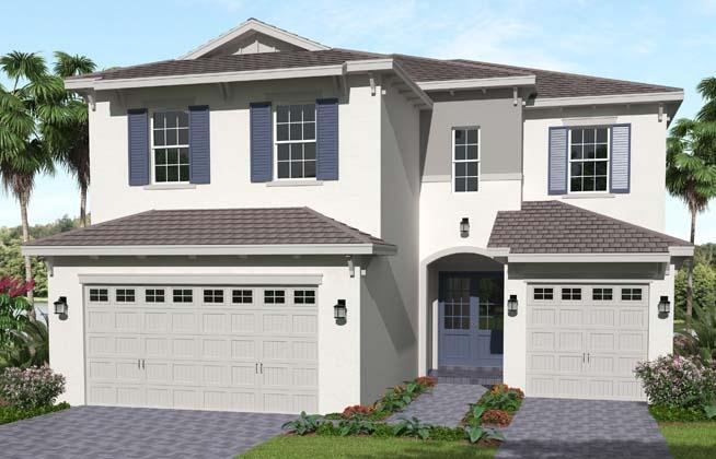 Exterior featured in the Poinciana By Minto Communities in Palm Beach County, FL