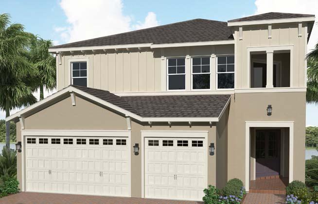 Exterior featured in the Laurel By Minto Communities in Palm Beach County, FL