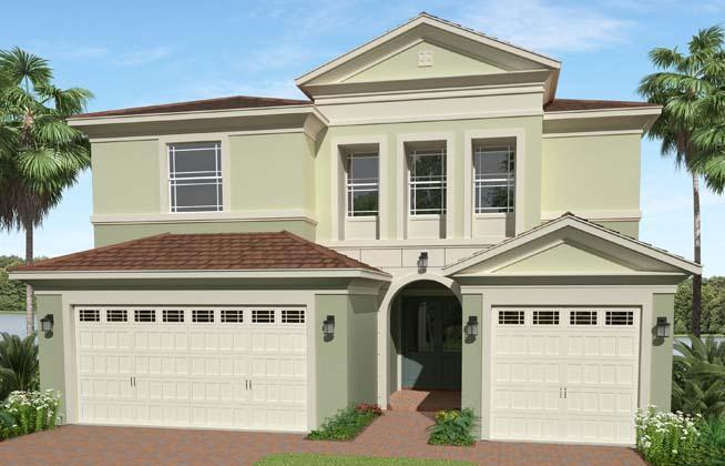 Exterior featured in the Birchwood By Minto Communities in Palm Beach County, FL
